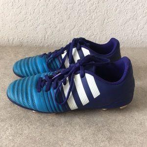 Boys Adidas NITROCHARGE 4.0 Soccer Cleats 4.5
